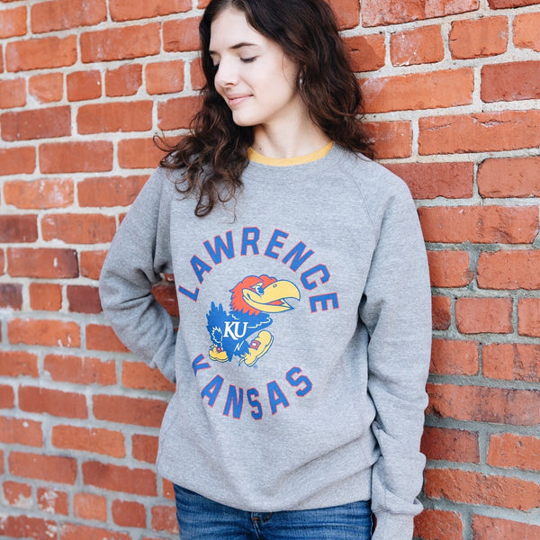 Charlie Hustle Lawrence Kansas Sweatshirt