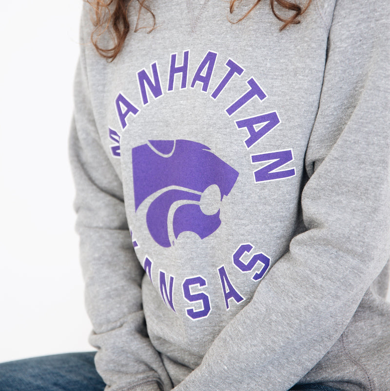 Charlie Hustle Manhattan Kansas Sweatshirt