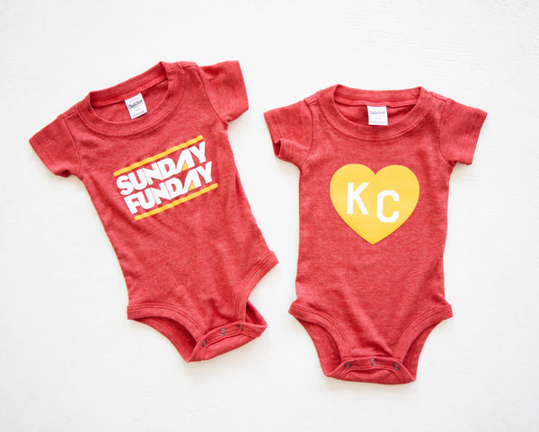Charlie Hustle Sunday Funday Onesie