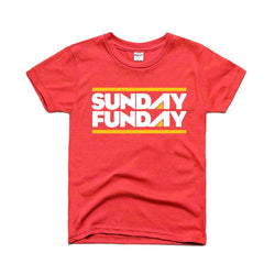 Charlie Hustle Sunday Funday Kids Tee