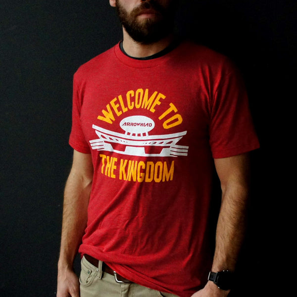Charlie Hustle Welcome to the Kingdom Tee