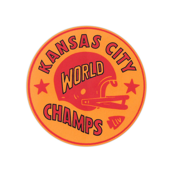 Charlie Hustle Kansas City World Champs Sticker