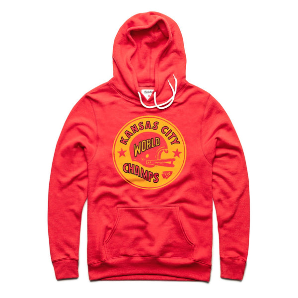 Charlie Hustle KC World Champs Hoodie
