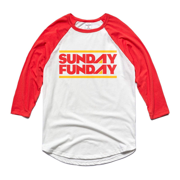 Charlie Hustle Sunday Funday Raglan