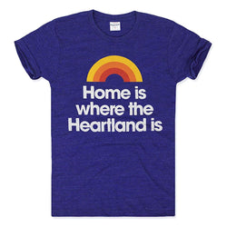 Charlie Hustle Home Is Where the Heartland Is Tee