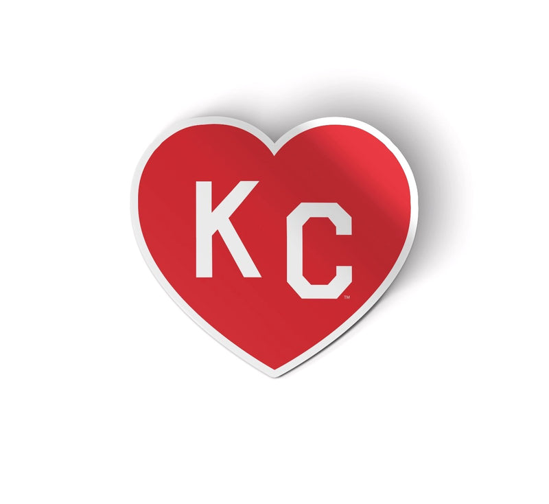 Charlie Hustle KC Heart Decal