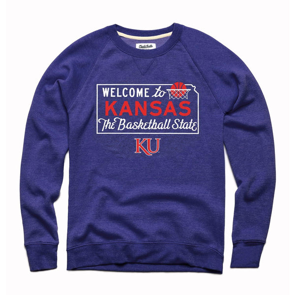 Charlie Hustle Welcome to Kansas: The Basketball State Sweatshirt