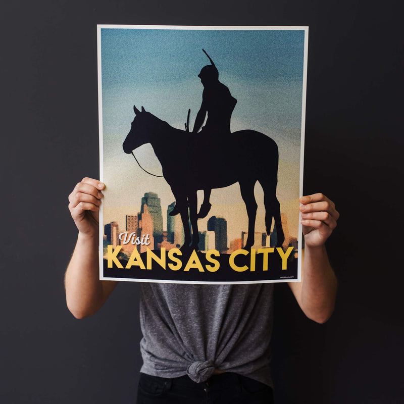 Choose KC The Scout Travel Poster Print