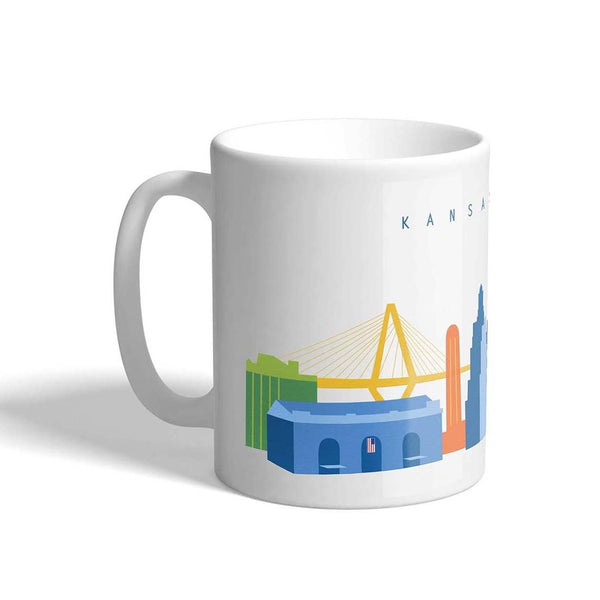 CityScape Designs Skyline Coffee Mug
