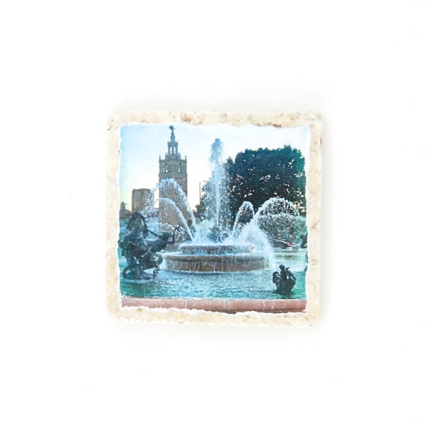 Coasters to Coasters: Plaza Fountain