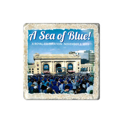 Coasters to Coasters: A Sea of Blue