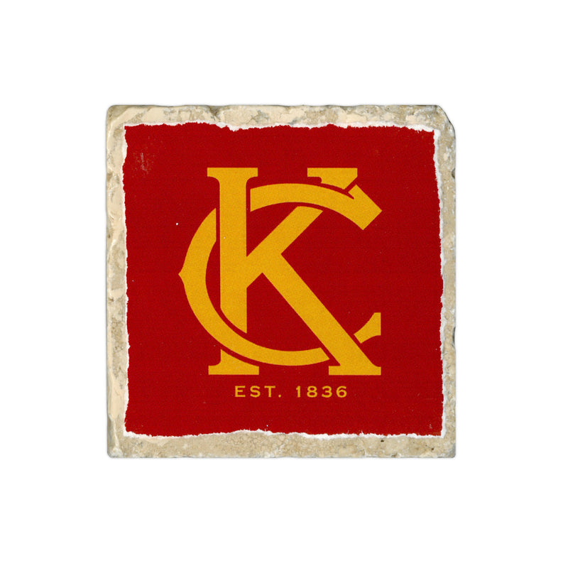 Coasters to Coasters: KC Est. 1836 - Red & Yellow