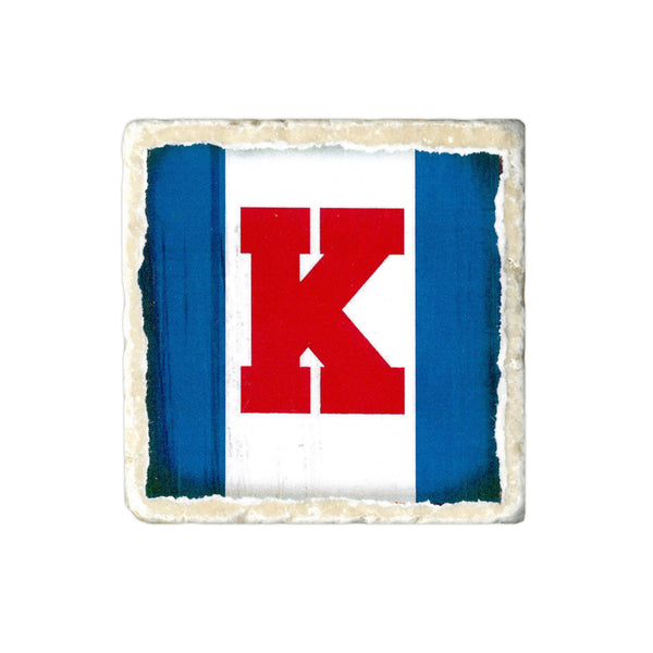 Coasters to Coasters: KU Flag