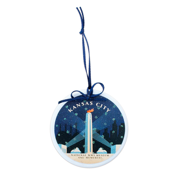Coasters to Coasters Liberty Memorial Ornament