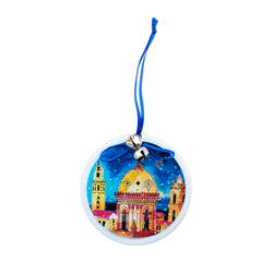 Coasters to Coasters Plaza Lights Ornament