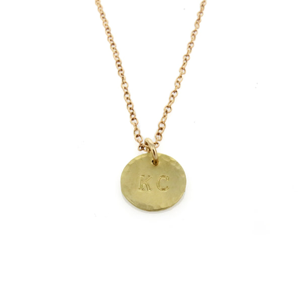 Coki Bijoux KC Charm Necklace - Bronze