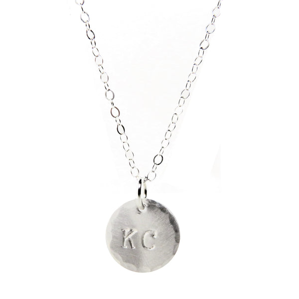 Coki Bijoux KC Charm Necklace - Silver