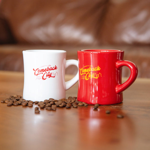 Comeback City Diner Mug - Red