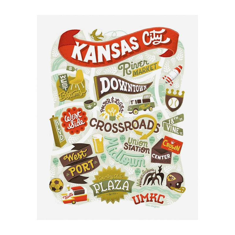 Dave Douglass Kansas City Print