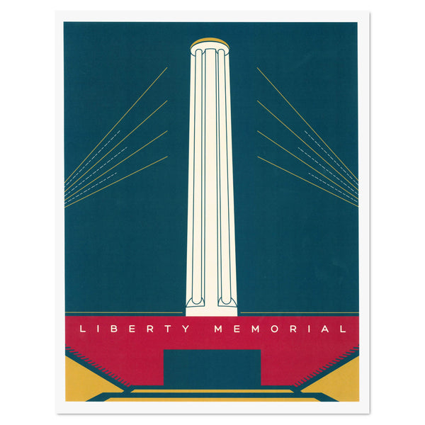 Dimestore Saint Designs Liberty Memorial Print
