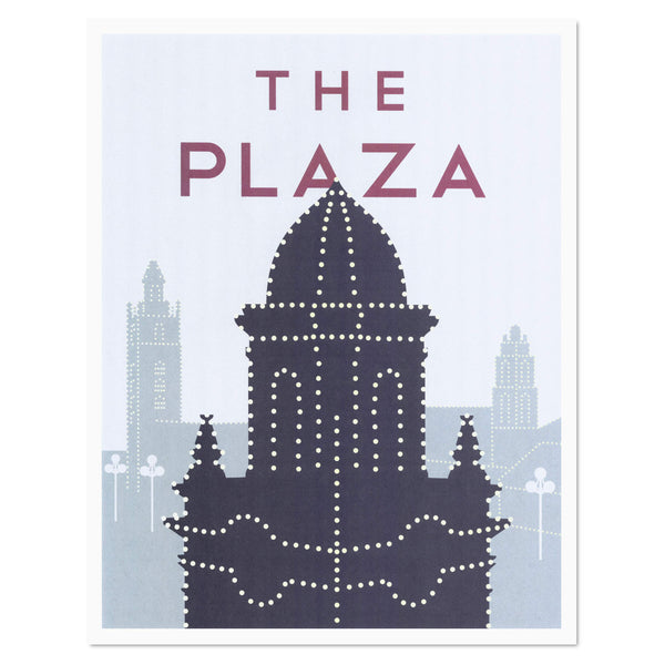 Dimestore Saint Designs The Plaza Print