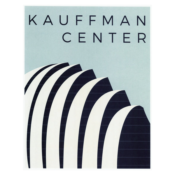 Dimestore Saint Designs Kauffman Performing Arts Center Print
