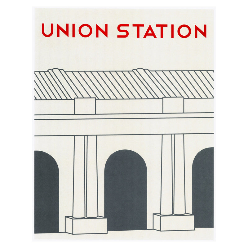 Dimestore Saint Designs Union Station Print