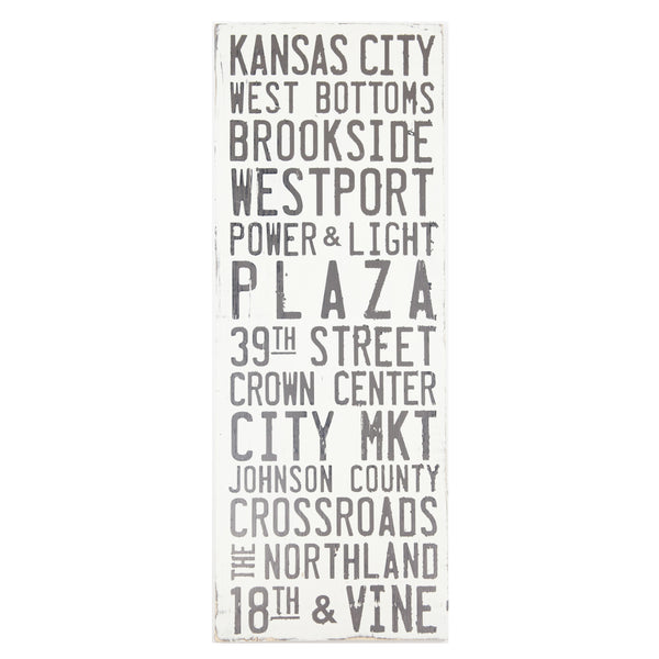 Farmdog Studios Kansas City Neighborhoods Sign