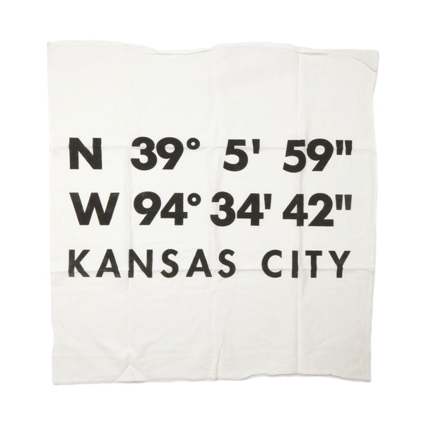 Farmdog Studios Kansas City Coordinates Tea Towel
