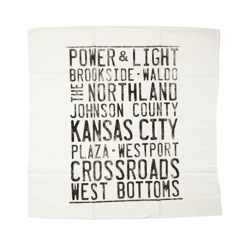 Farmdog Studios Neighborhoods Tea Towel