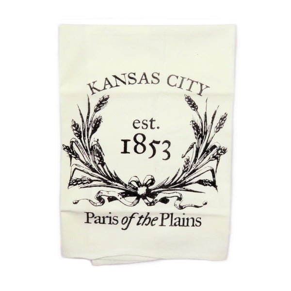 Farmdog Studios KC Est. 1853 Tea Towel