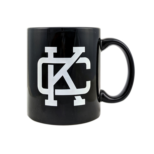 Flint & Field KC Logo Mug - Black
