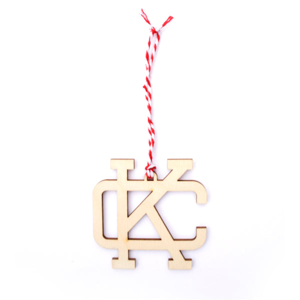 Flint & Field KC Woodcut Ornament