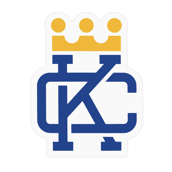 Flint & Field KC Crown Sticker