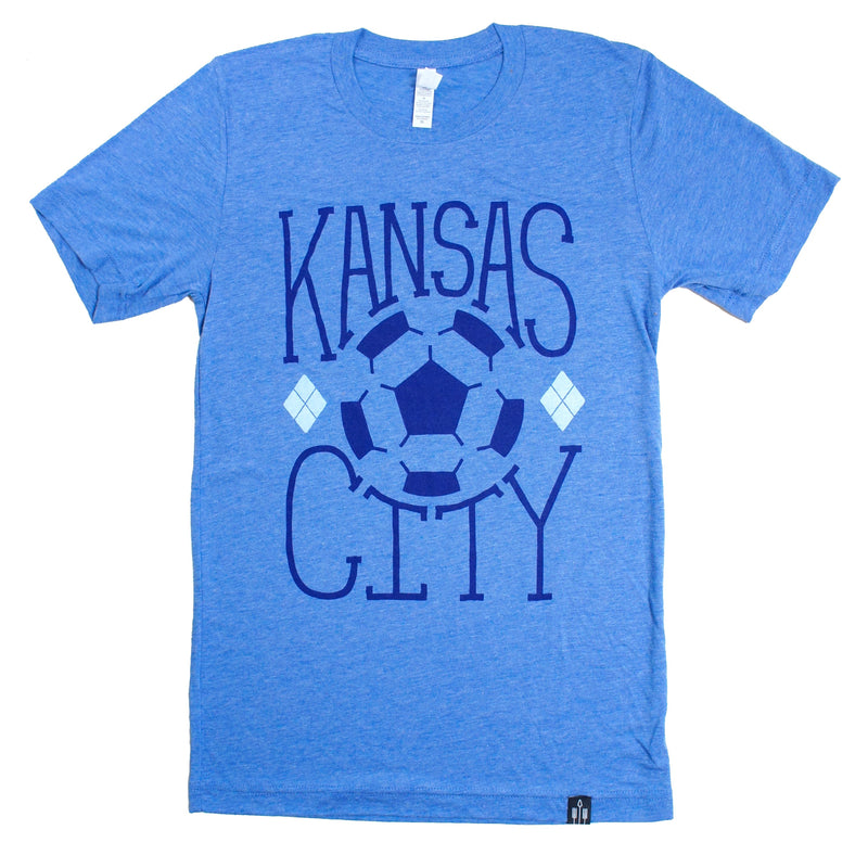 Flint & Field Kansas City Soccer Tee
