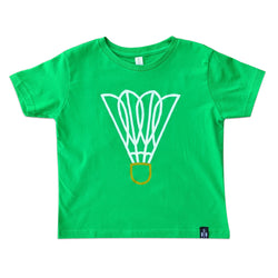 Flint & Field Shuttlecock Kids Tee - Green