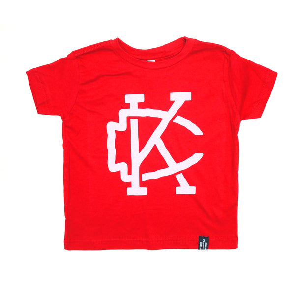 Flint & Field KC Arrowhead Kids Tee