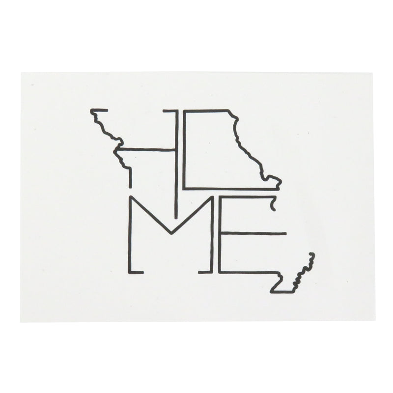 Flint & Field Missouri Home Print