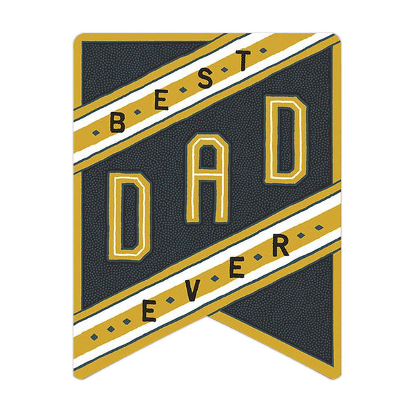 Hammerpress Best Dad Ever Card