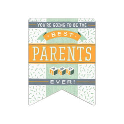 Hamerpress Best Parents Ever Card