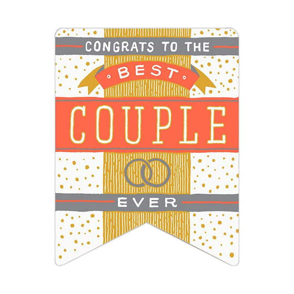 Hamerpress Best Couple Ever Card