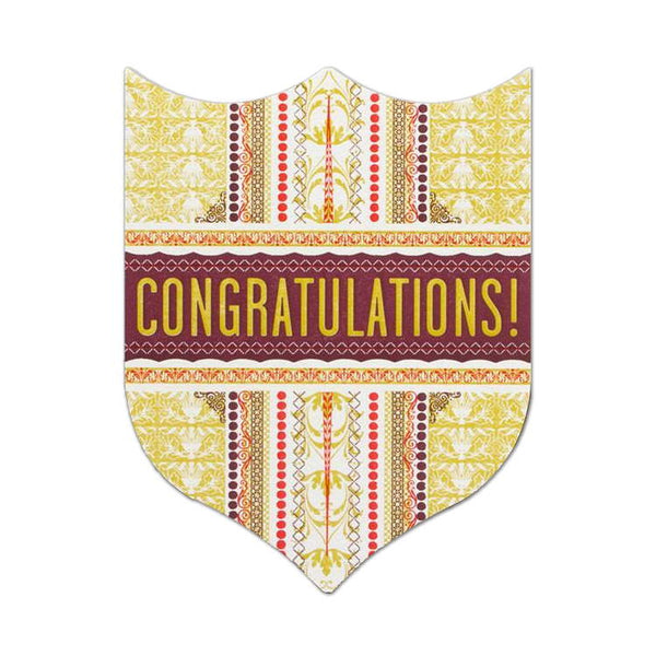 Hammerpress Congratulations Badge Card