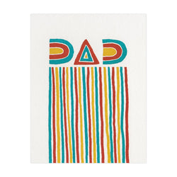 Hammerpress Dad Stripes Card