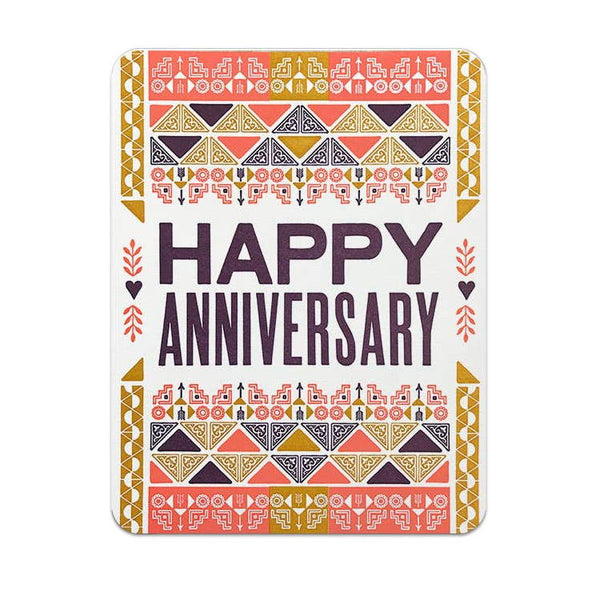Hammerpress Happy Anniversary Fiesta Card