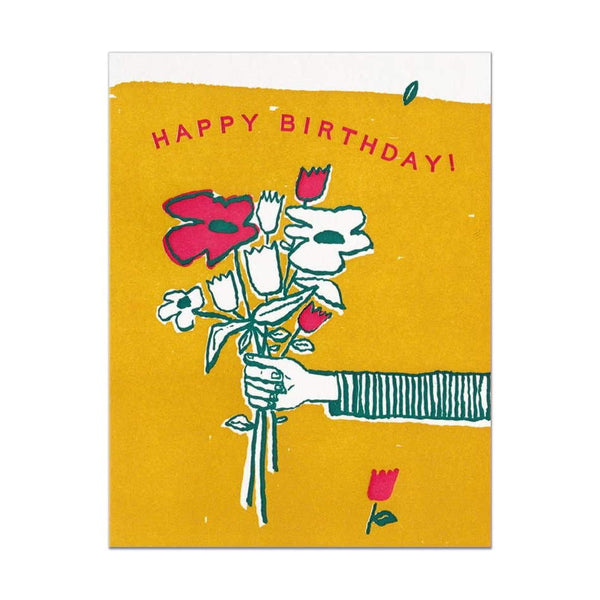 Hammerpress Happy Birthday Bouquet Card