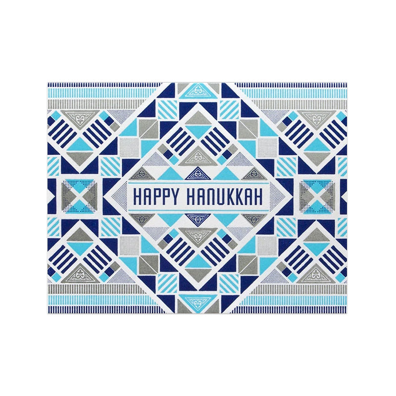 Hammerpress Happy Hannukah Card