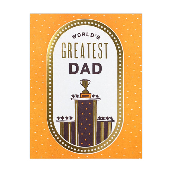 Hammerpress World's Greatest Dad Card