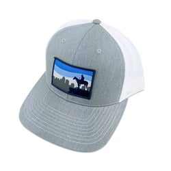 Heartland Hat Co. Scout Skyline Snapback - Grey