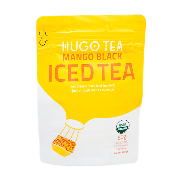 Hugo Tea Mango Black Iced Tea
