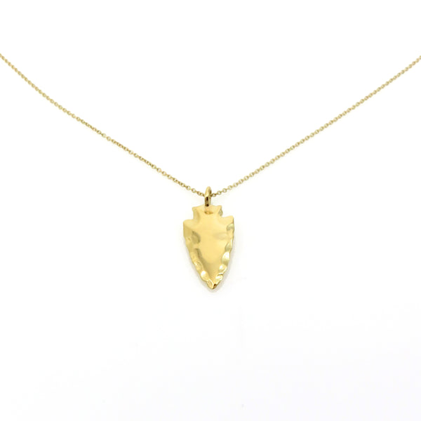 Janesko Arrowhead Necklace - Gold